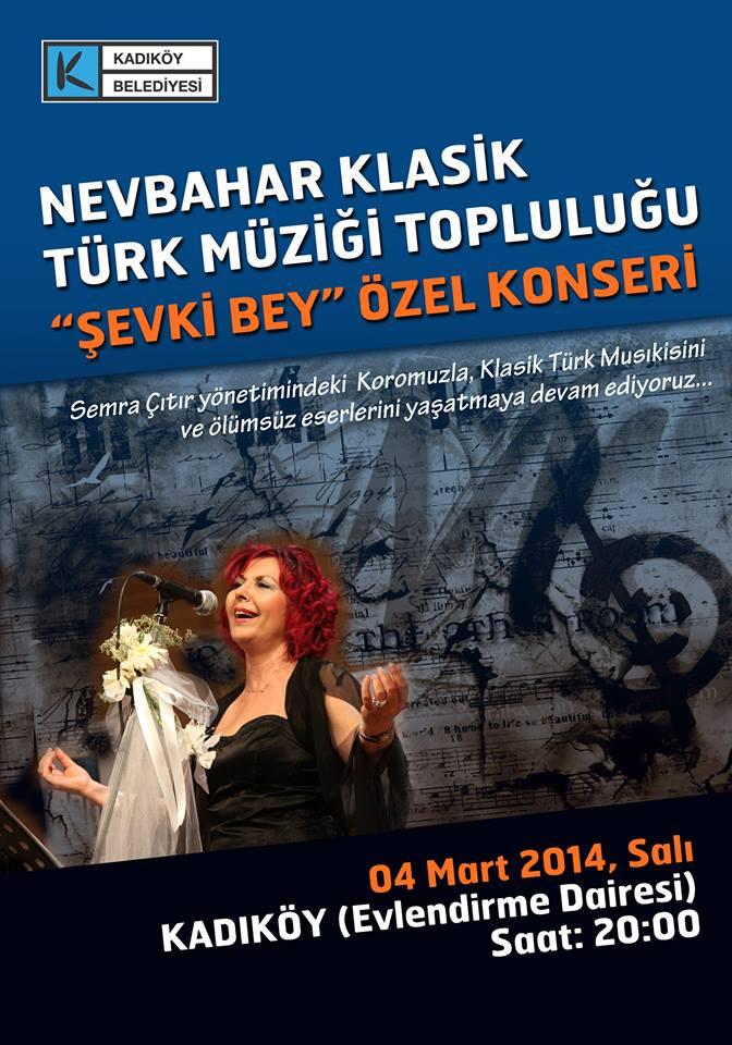nevbahar kl. türk müziği top şevki bey konseri