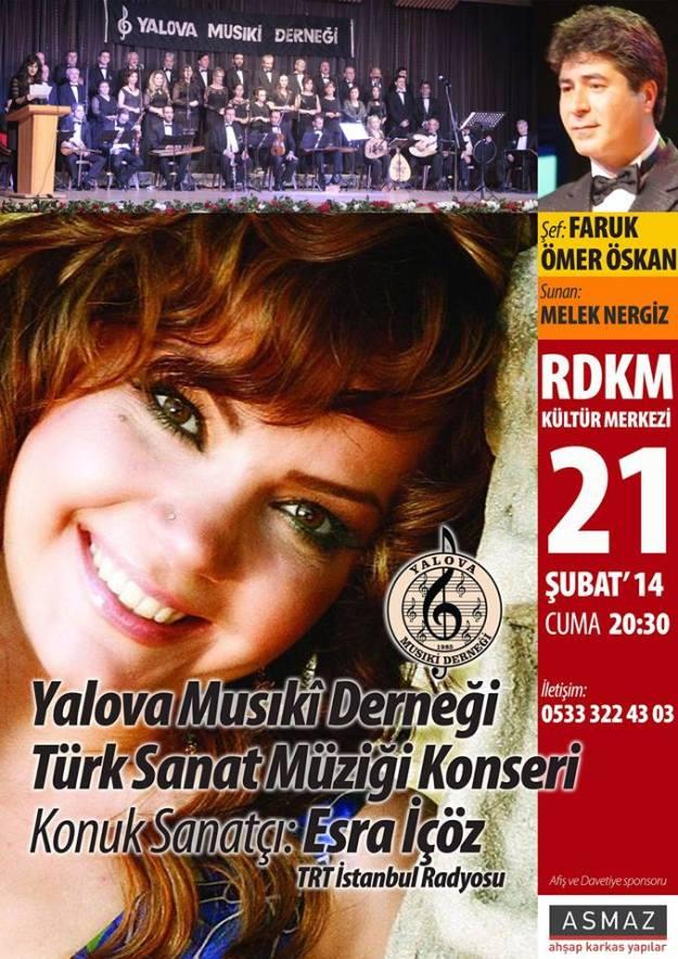 yalova musiki derneği 21 şubat konseri