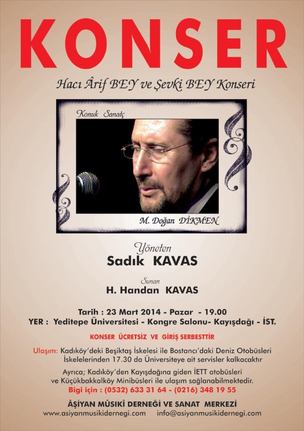 aşiyan musiki derneği neo klasik dönem eserl konseri 23 mart