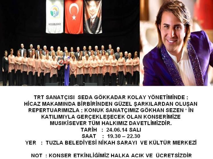 tuzla belediyesi tsm gökhan sezen konseri 24.06.2014