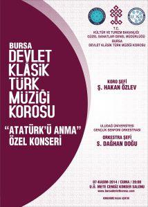 bursa devlet klasik türk müziği top 10 kasım konseri
