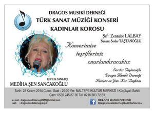 dragos musiki derneği kadınlar korosu 28 kasım