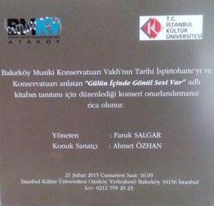 bakırköy musiki vakfı 21 şubat