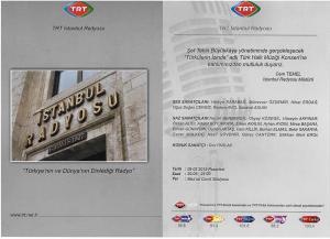 istanbul radyosu konseri 09 şubat