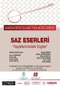 samsun devlet korosu konseri 19 şubat