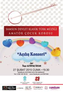 samsun klasik türk müziği top. çocuk korosu 27 şubat
